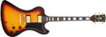 Musical Instruments:Electric Guitars, 1977 Gibson RD Artist Sunburst Electric Guitar, #72987111....