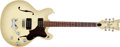 Musical Instruments:Electric Guitars, Late 1960s Mosrite Gospel Series Shaded Brown Electric Guitar, # 4320....