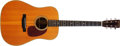 Musical Instruments:Acoustic Guitars, 1948 Martin D-28 Natural Acoustic Guitar, #107294. ...