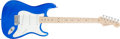 Musical Instruments:Electric Guitars, 2004 Fender Anniversary Stratocaster Blue Solid Body ElectricGuitar, #Z4036191....