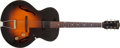 Musical Instruments:Electric Guitars, 1961 Gibson ES-125 Sunburst Hollow Body Electric Guitar, #6605....