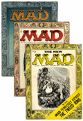 Magazines:Mad, Mad #25, 26, and 28 Group (EC, 1955-56).... (Total: 3 Comic Books)