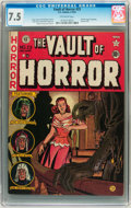 Golden Age (1938-1955):Horror, Vault of Horror #23 (EC, 1952) CGC VF- 7.5 Off-white pages....