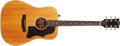 Musical Instruments:Acoustic Guitars, 1980 Gibson J-50 Natural Acoustic Guitar, #80500080. ...