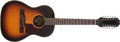 Musical Instruments:Acoustic Guitars, 1960s Epiphone FT-85 Sunburst 12-String Acoustic Guitar, #33658....
