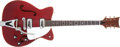 Musical Instruments:Electric Guitars, 1966 Martin GT-75 Red Semi-Hollow Electric Guitar, #215568. ...