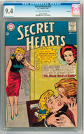 Silver Age (1956-1969):Romance, Secret Hearts #99 Savannah pedigree (DC, 1964) CGC NM 9.4 Off-white to white pages....