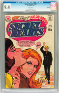 Bronze Age (1970-1979):Romance, Secret Hearts #145 Savannah pedigree (DC, 1970) CGC NM 9.4 Whitepages....