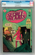 Bronze Age (1970-1979):Romance, Secret Hearts #146 Savannah pedigree (DC, 1970) CGC NM+ 9.6Off-white to white pages....
