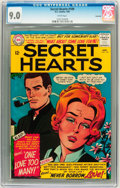 Silver Age (1956-1969):Romance, Secret Hearts #109 Savannah pedigree (DC, 1966) CGC VF/NM 9.0 Whitepages....