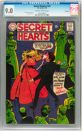 Silver Age (1956-1969):Romance, Secret Hearts #129 Savannah pedigree (DC, 1968) CGC VF/NM 9.0Off-white to white pages....