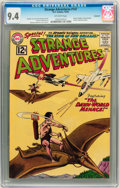 Silver Age (1956-1969):Science Fiction, Strange Adventures #147 Savannah pedigree (DC, 1962) CGC NM 9.4Off-white pages....