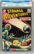 Silver Age (1956-1969):Science Fiction, Strange Adventures #150 Savannah pedigree (DC, 1963) CGC NM 9.4Off-white pages....