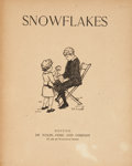 Books:Children's Books, [Children's Illustrated]. Snowflakes. Boston: De Wolfe,Fiske, [n.d., ca. 1870]. Quarto. Publisher's cloth backs...