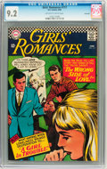 Silver Age (1956-1969):Romance, Girls' Romances #117 Savannah pedigree (DC, 1966) CGC NM- 9.2Off-white to white pages....