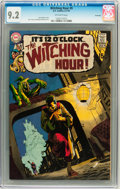 Bronze Age (1970-1979):Horror, The Witching Hour #9 Savannah pedigree (DC, 1970) CGC NM- 9.2Off-white pages....