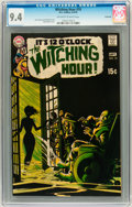 Bronze Age (1970-1979):Horror, The Witching Hour #10 Savannah pedigree (DC, 1970) CGC NM 9.4Off-white to white pages....