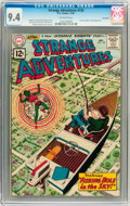 Silver Age (1956-1969):Science Fiction, Strange Adventures #135 Savannah pedigree (DC, 1961) CGC NM 9.4Off-white pages....