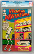 Silver Age (1956-1969):Science Fiction, Strange Adventures #136 Savannah pedigree (DC, 1962) CGC NM 9.4Off-white pages....