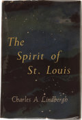Books:Americana & American History, Charles A. Lindbergh. The Spirit of St. Louis. New York:Charles Scribner's Sons, 1953.. First edition. Presenta...