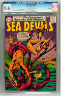 Silver Age (1956-1969):Adventure, Sea Devils #18 Savannah pedigree (DC, 1964) CGC NM+ 9.6 Off-white to white pages....