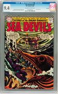Silver Age (1956-1969):Adventure, Sea Devils #29 Savannah pedigree (DC, 1966) CGC NM 9.4 Off-white to white pages....