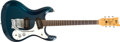 Musical Instruments:Electric Guitars, 1965 Mosrite Ventures Dark Teal Electric Guitar, #3516....