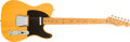 Musical Instruments:Electric Guitars, 2008 Fender Telecaster 1952 Re-Issue Butterscotch Electric Guitar,#44390....