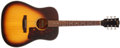 Musical Instruments:Acoustic Guitars, 1974-1975 Gibson J-45 Sunburst Acoustic Guitar, #D346677....