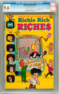 Bronze Age (1970-1979):Humor, Richie Rich Riches #2 File Copy (Harvey, 1972) CGC NM+ 9.6Off-white to white pages....