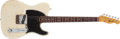 Musical Instruments:Electric Guitars, 1966 Fender Telecaster Olympic White Electric Guitar, #125134. ...
