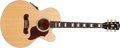Musical Instruments:Acoustic Guitars, 2001 Gibson L-4A Natural Acoustic Guitar, #01804013. ...