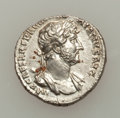 Ancients:Roman Imperial, Ancients: ROMAN EMPIRE. Hadrian (AD 117-138). AR denarius (3.53gm). ...
