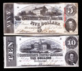Confederate Notes:1863 Issues, T59 and T60 1863 Notes.. ... (Total: 2 notes)