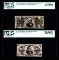 Fractional Currency:Third Issue, Fr. 1292 25¢ Third Issue PCGS Choice About New 58PPQ. Fr. 1341 50¢ Third Issue Spinner Type II PCGS Choice New 63PPQ.... (Total: 2 notes)