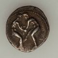 Ancients:Greek, Ancients: PAMPHYLIA. Aspendus. Ca. 400-370 BC. AR stater (10.86gm). ...