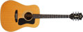 Musical Instruments:Acoustic Guitars, Modern Guild D-50 Natural Acoustic Guitar, #DD100386....