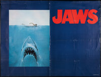 """Jaws (Universal, 1975). Subway Poster (45"""" X 59""""). Advance Style. Horror"""