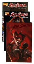 Modern Age (1980-Present):Superhero, Red Sonja Long Box Group (Various, 1983-09) Condition: AverageNM-....