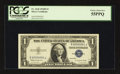 Small Size:Silver Certificates, Serial Number One Fr. 1618 $1 1935H Silver Certificate. PCGS Choice About New 55PPQ.. ...