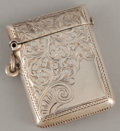 Silver Smalls:Match Safes, AN EDWARDIAN SILVER MATCH SAFE . S. Blanckensee & Son Ltd.,Birmingham, England, circa 1901-1902. Marks: (lion passant), (an...