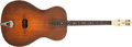 Musical Instruments:Acoustic Guitars, 1930s ViviTone Tenor Sunburst Acoustic Guitar, #386. ...