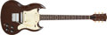 Musical Instruments:Electric Guitars, 1968 Gibson Melody Maker Walnut Electric Guitar, #899052. ...