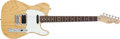 Musical Instruments:Electric Guitars, 1992 Fender USA Telecaster Plus Deluxe Natural Electric Guitar, #N2925040....