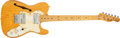 Musical Instruments:Electric Guitars, Circa 1973 Fender Telecaster Thinline Natural Electric Guitar,#417351....