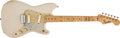 Musical Instruments:Electric Guitars, 1957 Fender Duo-Sonic Desert Sand Electric Guitar # -18462...