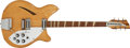 Musical Instruments:Electric Guitars, 1966 Rickenbacker 360 Maple Glo Electric Guitar #FD 1170...
