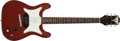 Musical Instruments:Electric Guitars, 1961 Epiphone Coronet Cherry Red Electric Guitar, #11192....
