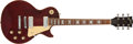 Musical Instruments:Electric Guitars, 1978 Gibson Les Paul Deluxe Wine Red Electric Guitar # 72898547...