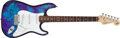 Musical Instruments:Electric Guitars, 1994 Fender USA Stratocaster 40th Anniversary Tie-Dye Alloy MetalElectric Guitar # N4167665 ...